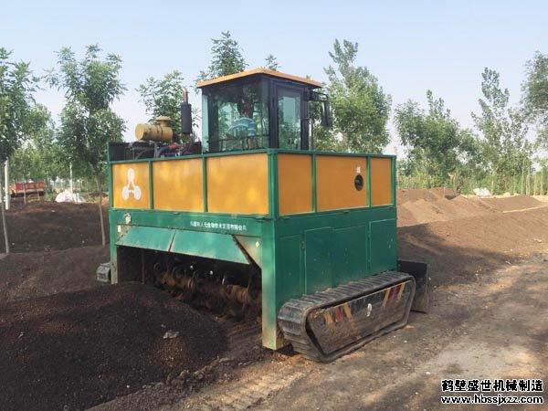 堆肥发酵翻Yabo直播平台种类与结构特点